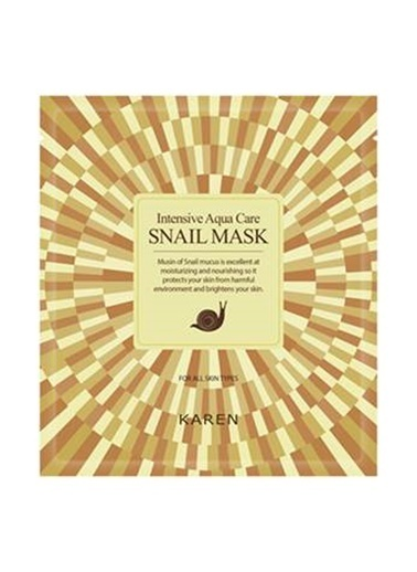 Ancors Karen Snail Mask - Salyangoz Özlü Cilt Onarıcı Yüz Maskesi Renksiz